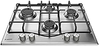 Ariston PCN 642 IX/A Built-in Gas Hob 60 CM, Stainless Steel - Silver