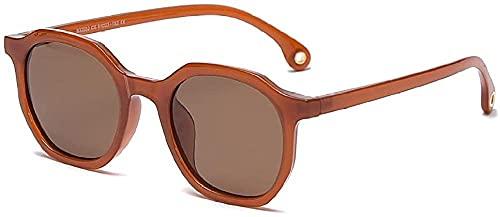 Gafas de sol Tr90 Polarizantes Gafas De Sol Femenino Polígono Driver Gafas De Sol Macho-C5