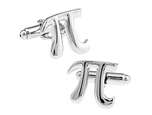 Ashton and Finch Pi 3.13 Mathematik Manschettenknöpfe. Neuheit, Mathematik, Wissenschaft, Lehrer, Herren manschettenknöpfe