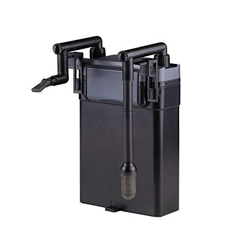 AquaOne Außenfilter Hang On Filter Hbl 803 500 L/h Aquarien Pumpe Schwammfilter 500 L Pumpe Schwammfilter Wasserfilter Leise Tank Extern Power