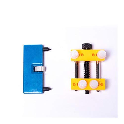 meimeijia Diseño Herramientas del Reloj Portable Ajustable reparación Abierta de Nuevo Caso removedor mire los Kits de Herramientas for un abridor de Tapa de la batería Cambio Robusto (Color : Set 3)