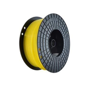 DMfit Yellow LLDPE Tubing Tube (1/4' ID 3/8' OD) 500 Feet per Reel, NSF/ANSI-51,61 Certificate
