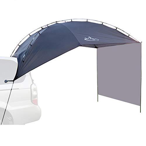XIYIN Toldo Sun Shelter SUV Toldo Auto Canopy Camper Portátil Trailer Tienda Techo Top Top Coche Refugio Auto Pabellón Impermeable Sun Shelter para Camping, Playa, SUV, MPV, Hatchback, Minivan, Sedán