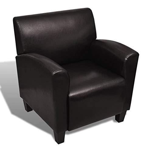 Kunstleder Armsessel Armsofa Sessel Relaxsessel Komfortstuhl Lehnstuhl Stuhl