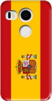 Mobilinnov - Carcasa rígida para Sony Xperia C5 (Ultra Doble, diseño de protección y personalización, Compatible con Google Nexus 5X, Color Bandera de España