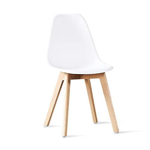 Designetsamaison Chaise scandinave Blanches - Onir