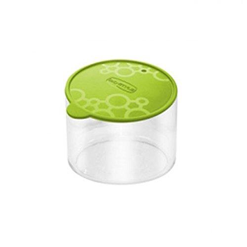 Aufbewahrungsbox Dose aus PVC rund mit.Tengo S Giò Style Spitze grün Frische Pasta Essen Kekse