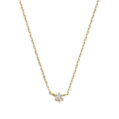 [VAヴァンドーム青山] VAVendomeAoyama 一粒ダイヤモンドネックレス(イエローゴールド) GGVN000340DI