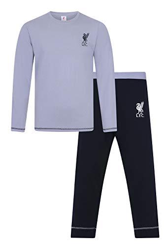 Pijama de fútbol para Hombre, diseño Oficial del Liverpool F.C. Gris Gris M