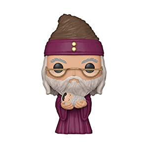 Funko Pop! Harry Potter: Harry Potter - Dumbledore with Baby Harry, Multicolor - 31HPPYtiyEL - Funko Pop! Harry Potter: Harry Potter – Dumbledore with Baby Harry, Multicolor