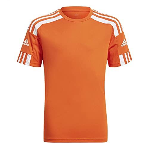 adidas Boys Jersey (Short Sleeve) Squad 21 JSY Y, Teaora/White, GN8089, 140 EU
