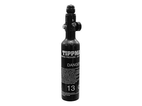 Tippmann 0,2L (13ci) Metall HP Tank/Flasche mit Regulator (klein) [Fülldruck: 3000psi]