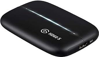 Elgato HD60 S Capture Card, 1080p 60 Capture, Zero-Lag Passthrough, Ultra-Low Latency, PS5, PS4, Xbox Series X/S, Xbox...