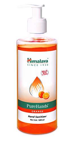 Himalaya Pure Hands | Hand Sanitizer – 500 ml (Orange)