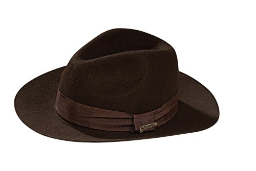 Indiana Jones and the Kingdom of the Crystal Skull Deluxe Adult Hat, Multicolor ,One Size