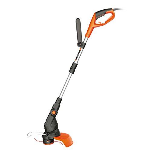 WORX WG119E grastrimmer 550W – grasmaaier met 2-in-1 functie: trimmen & kantensnijden – incl. extra handgreep, beschermbeugel & veiligheidsbescherming