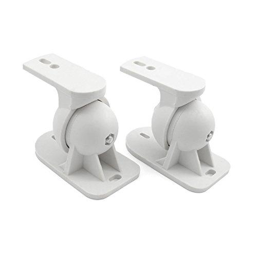 Incutex 2 Stück (1 Paar) Universal Lautsprecherwandhalterung Boxenhalterung Wand geeignet z. B. Für Teufel, Bose, Yamaha, Bosten u.v.m.