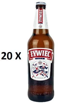 20 Flaschen a 0,5L Zywiec Pils a 5,6% vol. inc. 1.60€ MEHRWEG Pfand