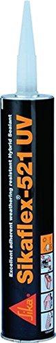 Sikaflex Polyurethan-Hybrid-Dichtstoff 521 UV, 300 ml, weiß