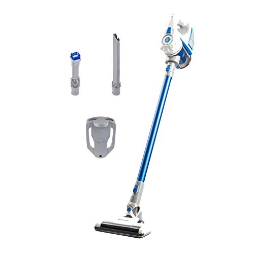 Best Deals! Vacmaster VSG2101 21.6V Cordless 2-in-1 Stick & Handheld Vacuum, White & Blue