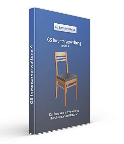 GS Inventarverwaltung 4 - Software zur Verwaltung von Inventar - Programm zur Verwaltung von Inventar