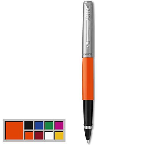 Parker Jotter Originals Tintenroller | Klassisches Orange | feine Spitze | schwarze Tinte