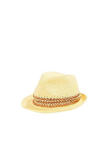 Esprit 050ea1p301 Sombrero de Panam, Amarillo, S para Mujer