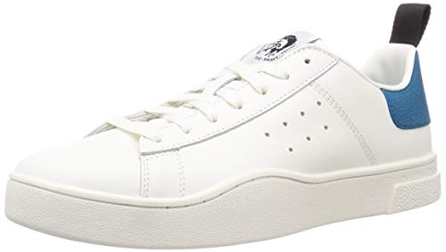 Diesel Herren-Sneaker, (Weiß/Türkische Fliese), 46.5 EU