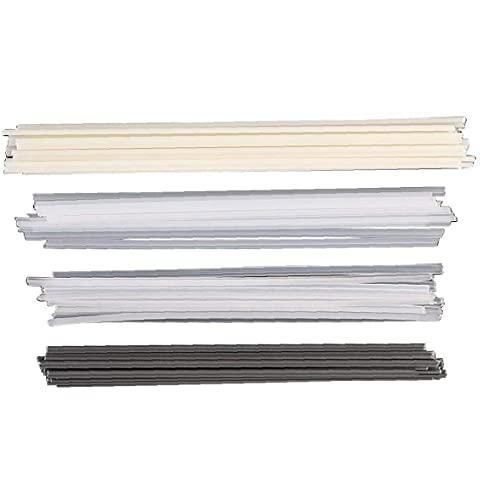 Gracy Varillas de Soldadura de plástico ABS/PP/PVC/PE Soldador Varillas para Soldador de plástico 50PCS, Accesorios para Herramientas eléctricas