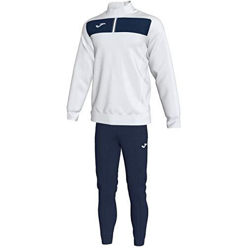Joma Academy II Herren Trainingsanzug Einheitsgröße weiß/Marineblau