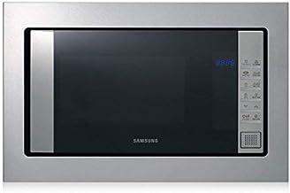 Samsung FG87SUST Integrado 23L 800W Acero inoxidable - Microondas (Integrado, 23 L, 800 W, Tocar, Acero inoxidable, Botón)