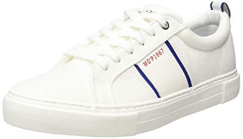 Marc O'Polo Herren 00325563501800 Sneaker, Weiß (Offwhite 110), 44 EU