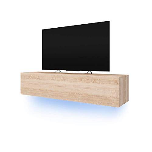 Selsey Meuble TV Suspendu, 160 x 40 x 34