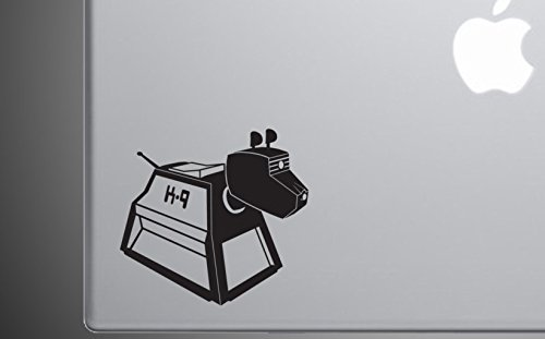 Boston Deals USA Doctor Who Laptop K9 K-9 Decal Sticker Car Home Laptop Dye-Cut