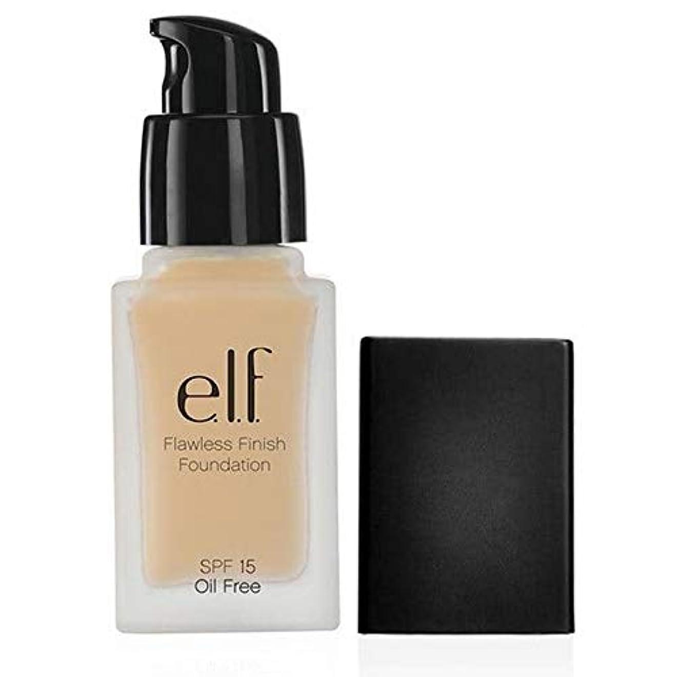 バッグ手つかずの温かい[Elf ] エルフ。完璧な仕上がりの基礎Spf15磁器111 - e.l.f. Flawless Finish Foundation SPF15 Porcelain 111 [並行輸入品]