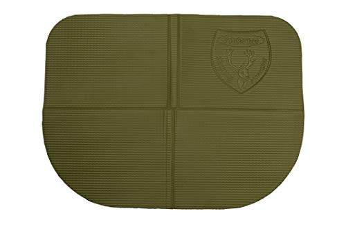 Hubertus Cojín plegable para caza y tiempo libre, color verde, 39 x 30 x 1 cm