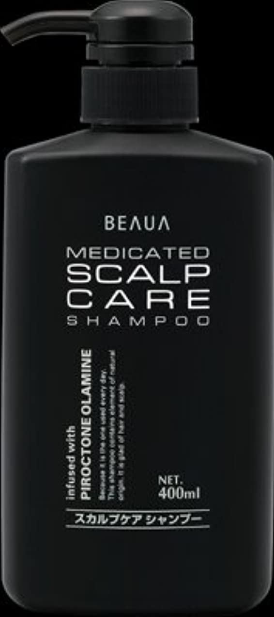 対報奨金いわゆる熊野油脂 ビューア 薬用スカルプケアシャンプー 400ML 髪と地肌にやさしいノンシリコン処方×24点セット (4513574013674)