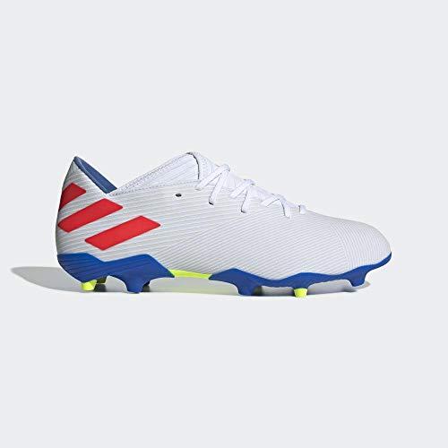 adidas Performance Nemeziz Messi 19.3 FG Fußballschuh Herren weiß/rot, 8.5 UK - 42 2/3 EU - 9 US