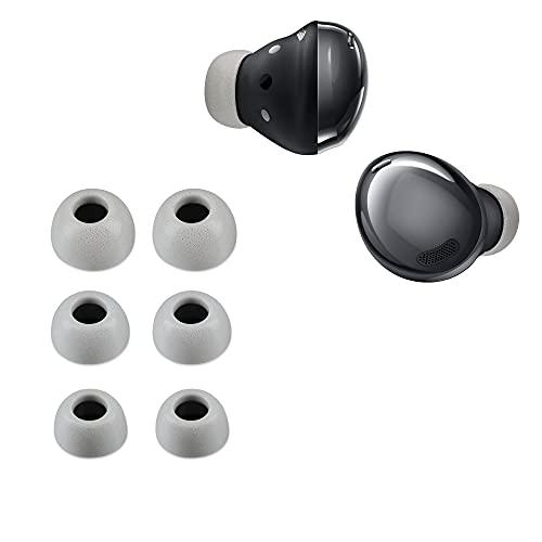 kwmobile 6X Polster kompatibel mit Samsung Galaxy Buds Pro - 3 Größen - Silikon Ohrstöpsel In-Ear Kopfhörer