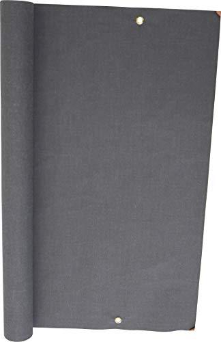 Angerer Balkonbespannung Style Anthrazit, Höhe 75 cm, Länge 8 Meter, 3318/262_800