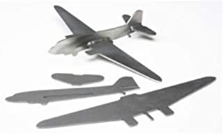 Airplane Welding Project Kit with Pre-Cut Aluminum Metal Plates for Skill Advancement (Comes with an Easy-to-Follow Guide Template)