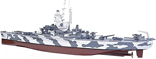 N-T Battleship 3D Puzzles Plastic Model Kits 1/350 Scale USS Alabama Battleship BB-60 Model Adult Toys and Gift 23 3 X 3 7Inch