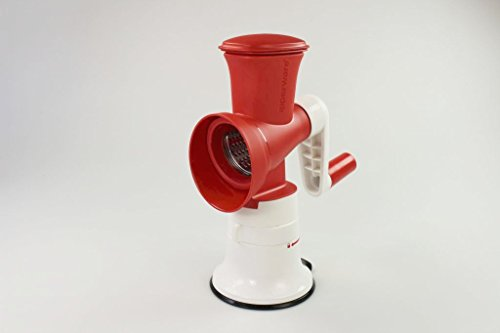 TUPPERWARE Set Ralladores Fusión Master blanco rojo