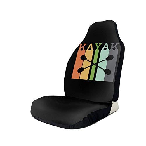AEMAPE Protector de la Cubierta del Asiento del Coche del Kayak Retro de la Vendimia 1 Pieza Que se Adapta a la mayoría de los Camiones SUV, etc.