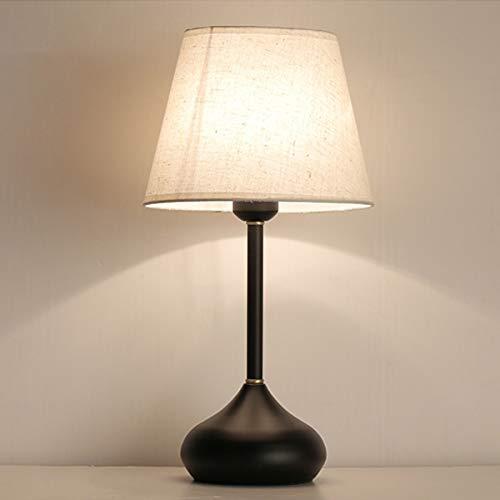 LED lámpara de mesa de noche, la Noche de noche simple Readi Lámpara de mesa cubierto Oficina de la lámpara lámpara de mesa lámpara de cabecera del dormitorio de la lámpara de la lámpara minimalista A