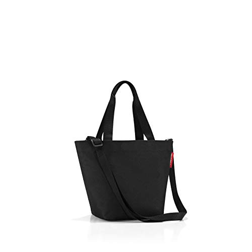 reisenthel shopper XS printed black Maße: 31 x 21 x 16 cm / Volumen: 4 l