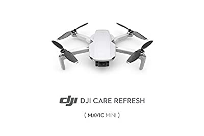 DJI Mavic Mini - Care Refresh, VIP service plan for Mavic Mini, Up to Two Replacement within 12 Months, Fast Support, Crash and Water Damage Coverage, to be activated within 48 Hours