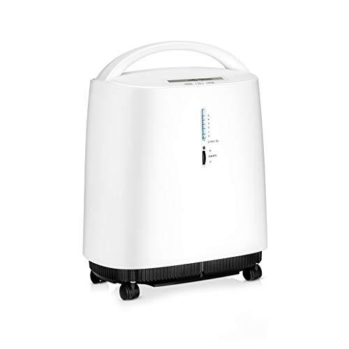 Teng Peng Sauerstoff-Konzentrator, Medical-Grade-3L-Konzentration von 90% for ältere Menschen, mit zerstäubtem Sauerstoffabsorber 0-5L Stufenlose Einstellung Geeignet for zu Hause und unterwegs Sauers