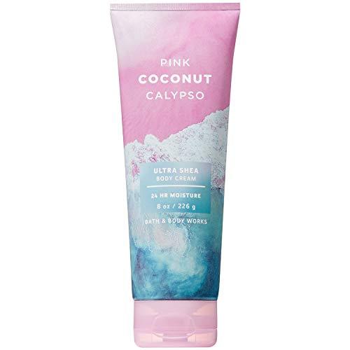 Bath and Body Works Pink Coconut Calypso Ultra Shea Body Cream 8 Ounce 2019 Edition