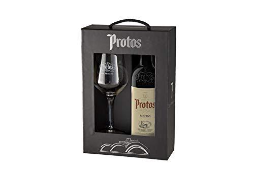 Estuche Botella Protos Reserva y Copa Protos